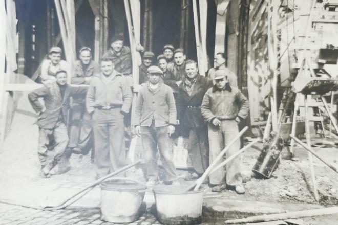1955 - Chantiers de béton armé