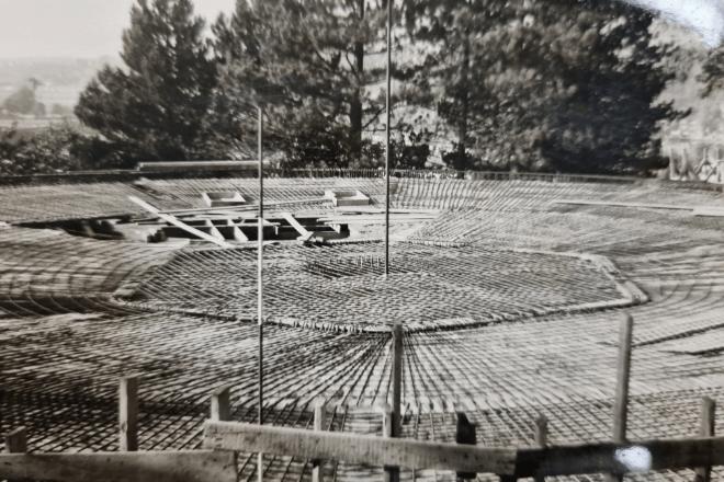 1963 : Réalisation d'accès et abords en béton armé aux Sœurs Sainte-Marie à Jambes